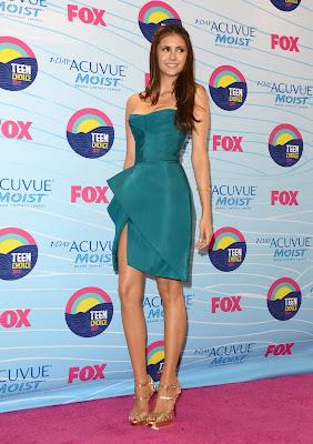 Nina Dobrev beautiful female The Vampire Diaries actress at 2012 Teen Choice Awards