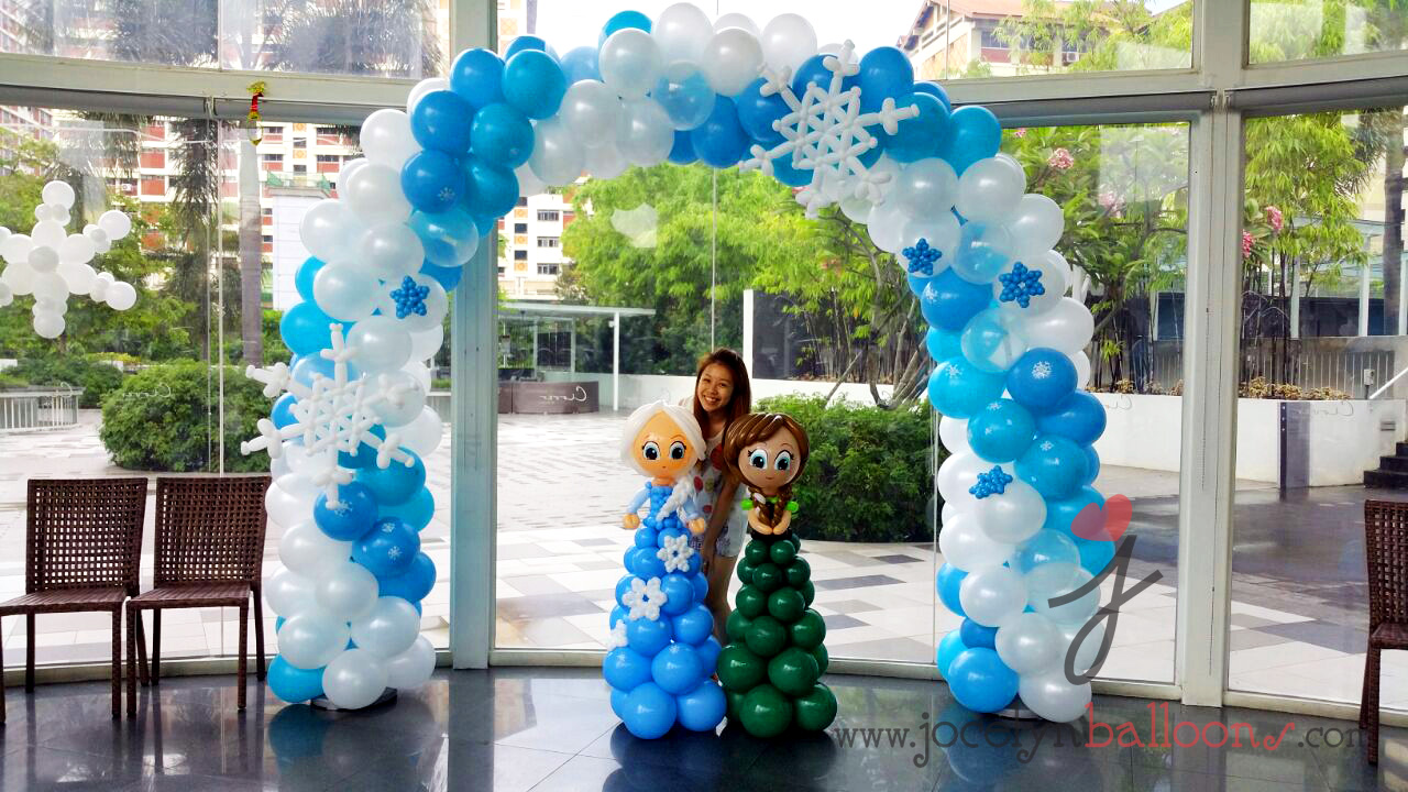 Jocelyn ng professional balloon artist blog balloon for Balloon decoration for parties