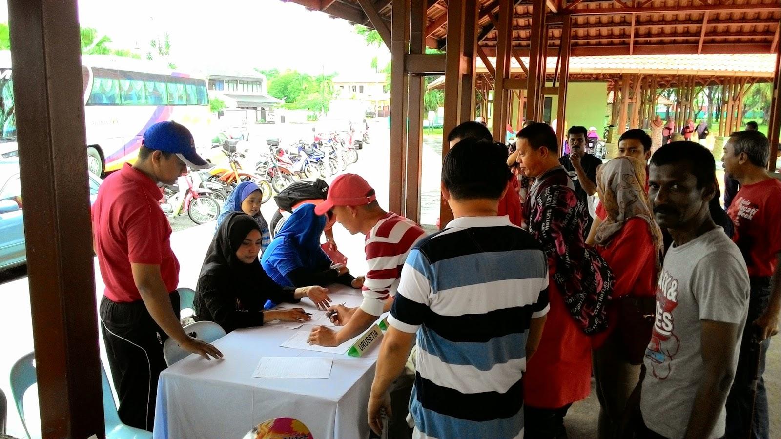 Program intervensi Parol di Tasik Titiwangsa