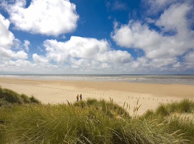 Sefton coast sand dunes, photo by Shutterstock