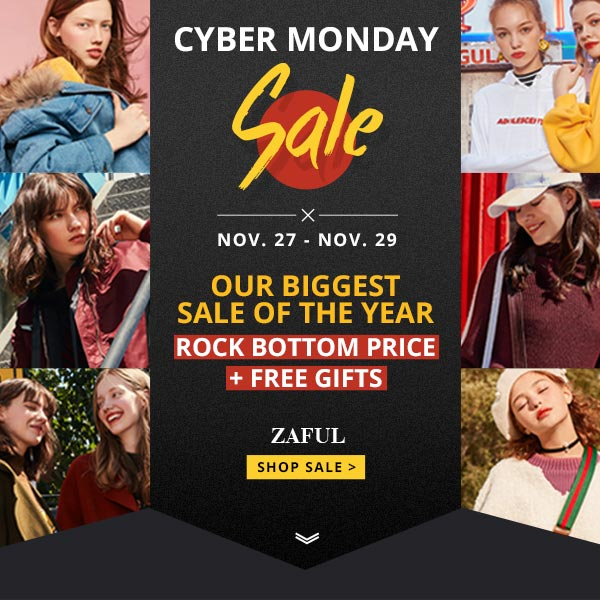 CYBERMONDAY CON ZAFUL