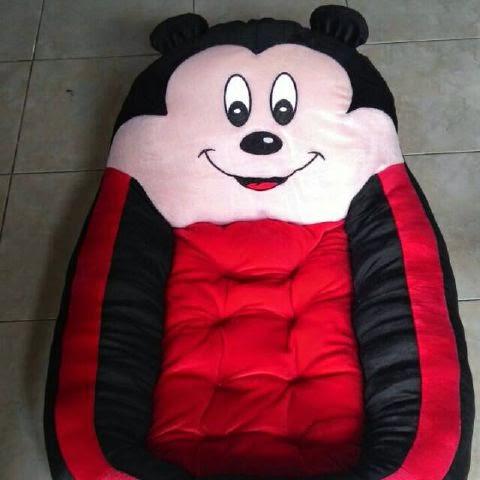 Ini Gambar Kasur Boneka Bayi Lucu Micky Mouse