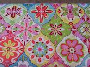 January mystery quilt fabrics