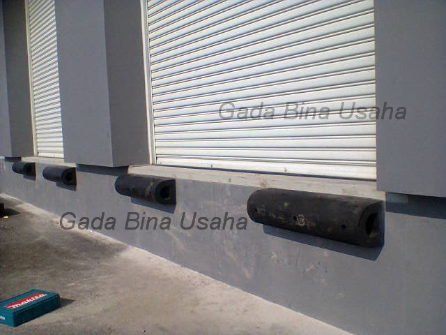 Rubber Bumper Loading Dock