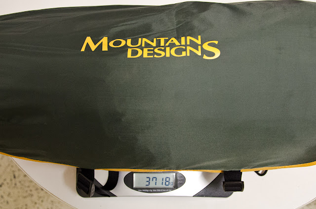 mountain designs fours season tent on kitchen scales
