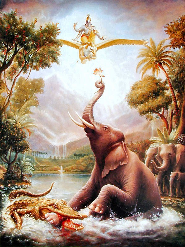GajendraThe Lord Frees the Tusker