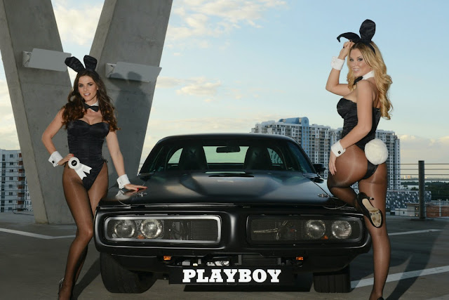 Jessa Hinton and Alison Waite and Playboy Charger