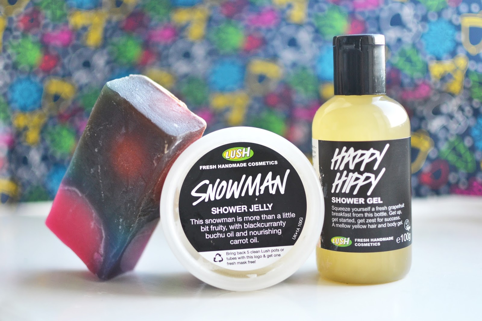 lush snow time gift set, lush christmas presents