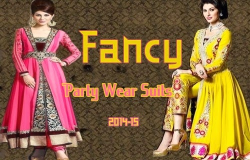 Fancy Party Wear Suits