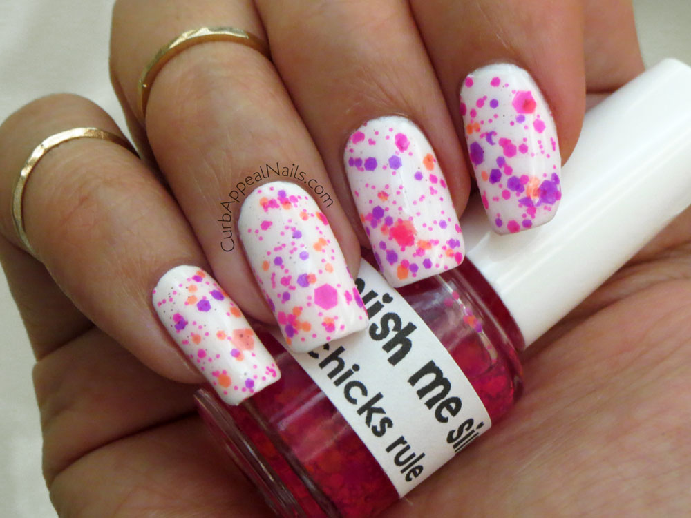 Curb Appeal Nails | Nail Art + Polish Blog: Polish Me Silly Chicks ...