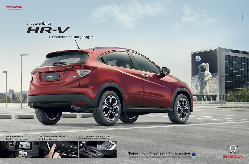 Honda HR-V - anúncio de revistas