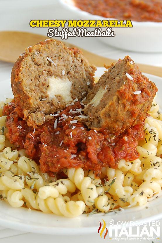 http://www.theslowroasteditalian.com/2012/03/cheesy-mozzarella-stuffed-meatballs.html