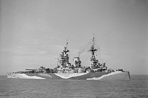 HMS RODNEY WW2