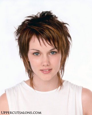 short shaggy hairstyle. Layered Shag Hairstyles