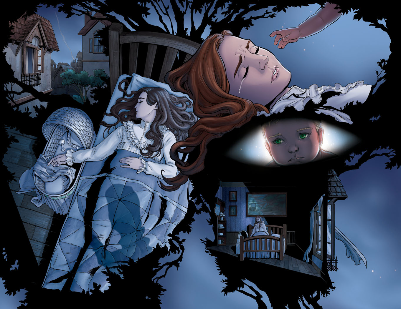 peter pan the graphic novel vol by renae de liz kickstarter 2 page sp preview unlettered this part adapted from the little white bird