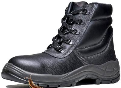 Proteção para os pés contra animais peçonhentos lacraias venenosas etc