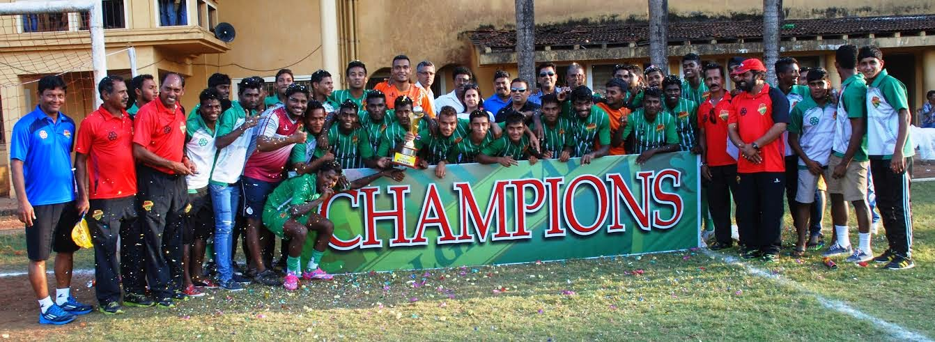 Salgaocar FC U19 team win GFA Third Division Title