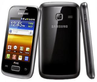 Handphone Android Samsung Galaxy Y Duos S6102