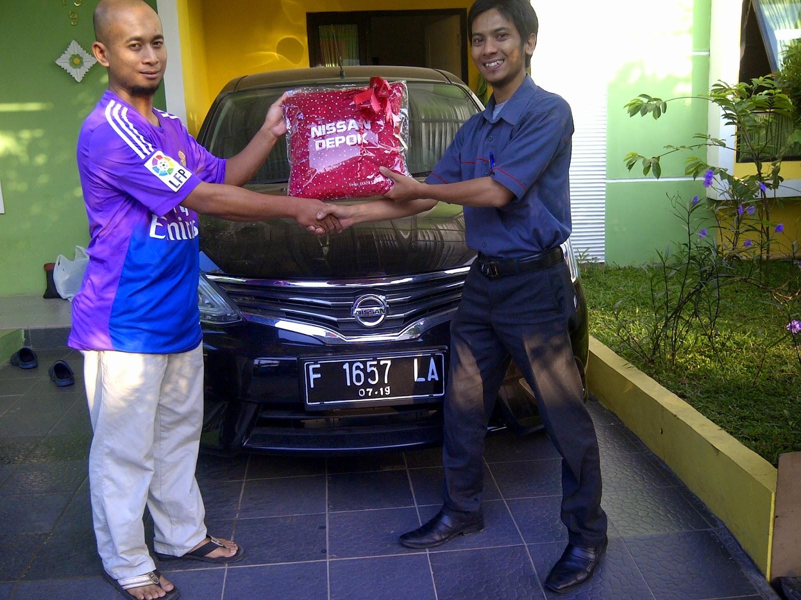 Terimakasih atas kepercayaan Pak Supriyanto yg telah membeli Grand Livina melalui media www.touchnissan.com.  Semoga Berkah ya Pak...