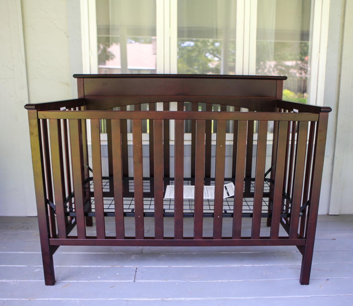 graco lauren convertible classic crib classic cherry