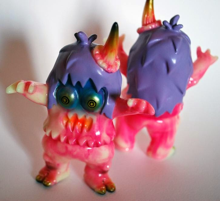 """Psychadelic Freakout!"" Ugly Unicorn Vinyl Figure by Rampage Toys"