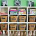 Organizando e decorando com cestinhos