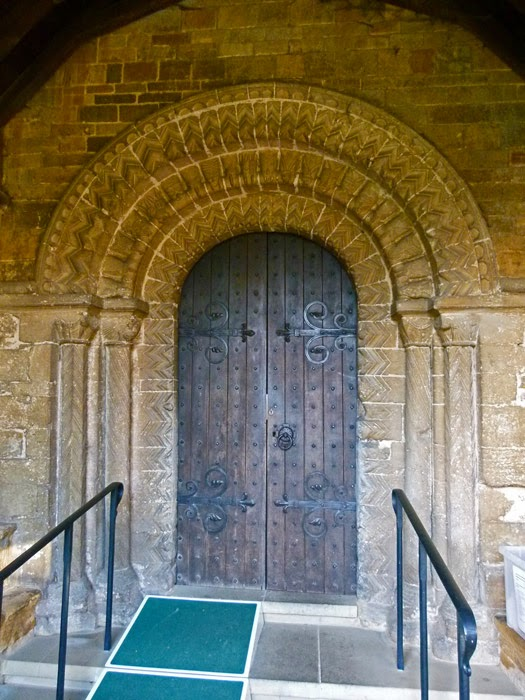 Norman arch, Norman doorway, Norman architecture, Northamptonshire