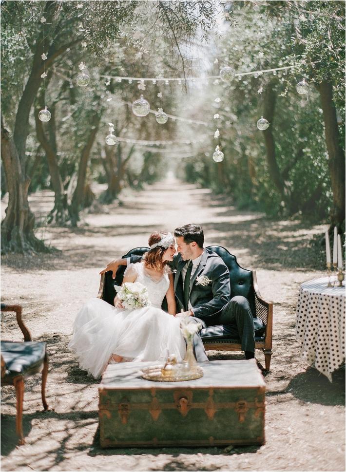 whimsical olive grove wedding inspirational shoot at highland springs resort
