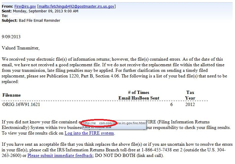 Irs Filing Irs Filing Information Returns Electronically