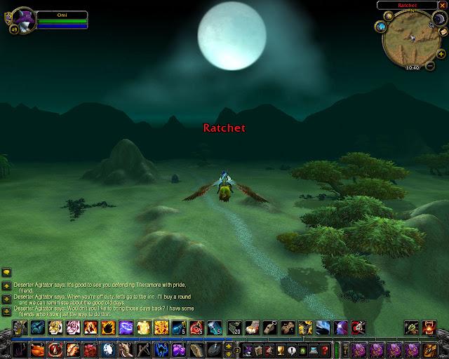 World of Warcraft - Entering Ratchet Screenshot