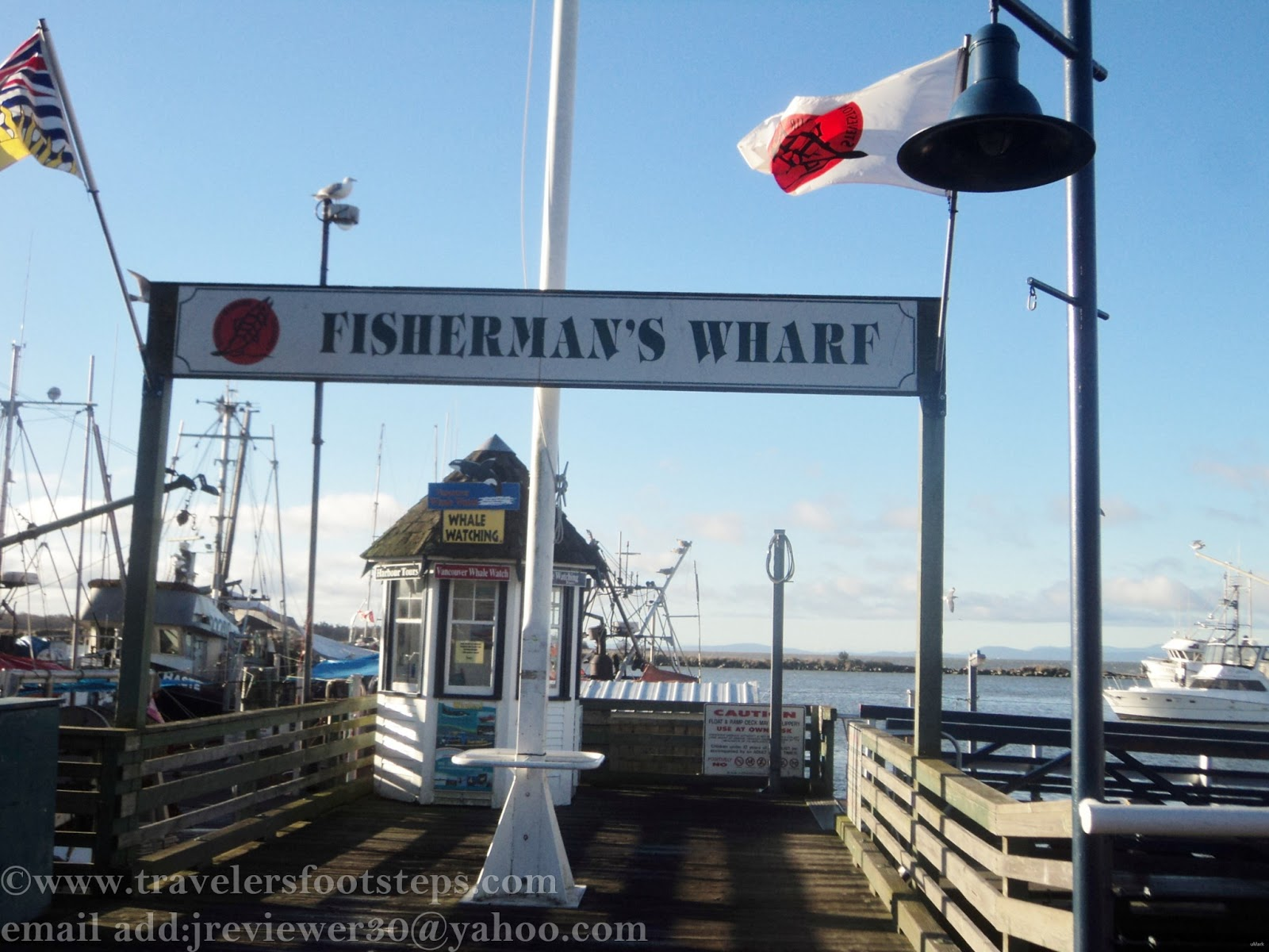 Visiting steveston fish market at fisherman s wharf for Fish market richmond va