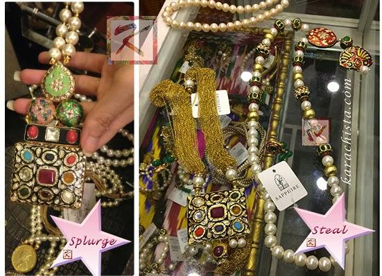 Shehla Chatoor's designer jewellery vs Sapphire
