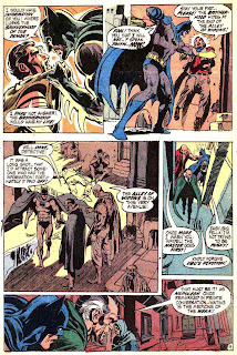 Batman v1 #232 dc comic book page art by Neal Adams