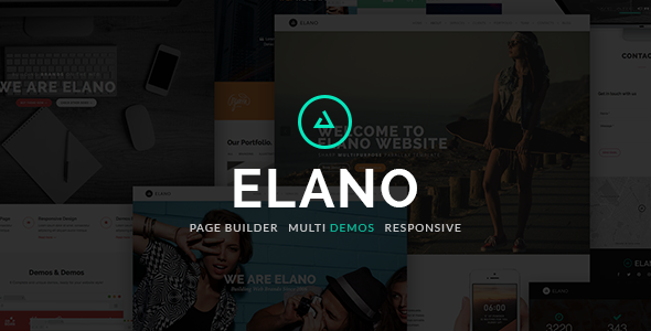 Elano - Multi-Purpose One Page Wordpress Theme