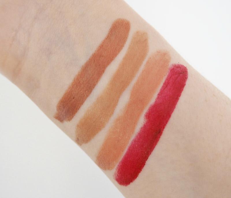 Olivia Palermo x Ciate AW15 lipsticks swatches