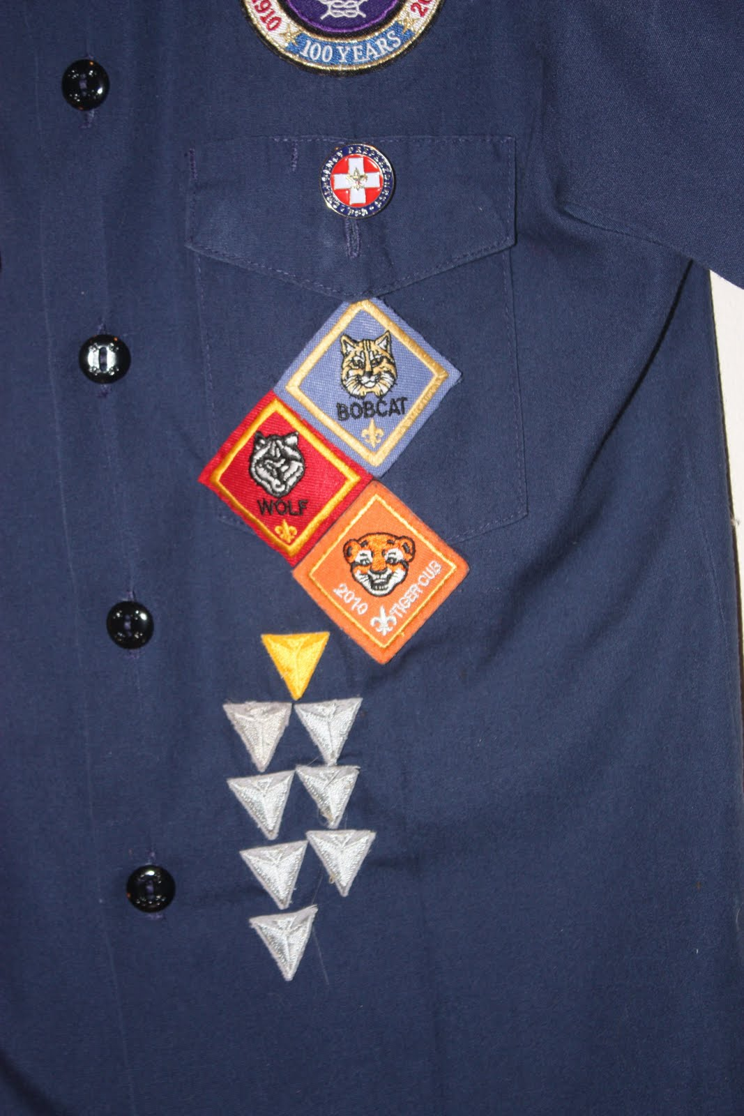 Cub Scout Insignia Proper Placement