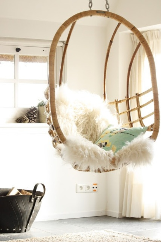 home details - indoor chair swing