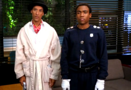 Abed and Troy from the show Community