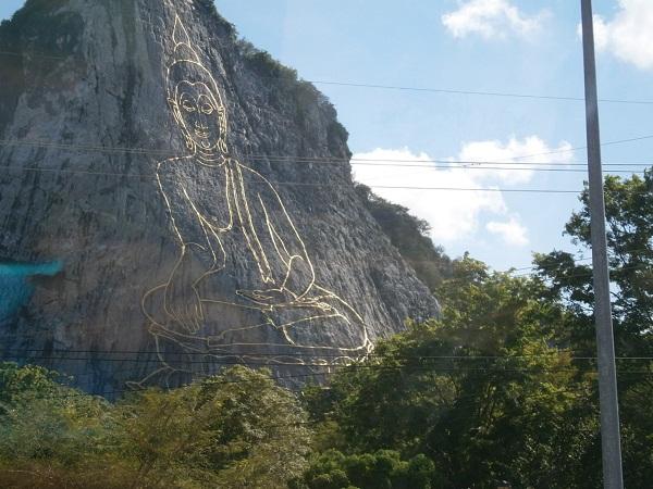Laser Buddha in Thailand 2
