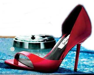 Zapatillas rojo para fiesta 2015