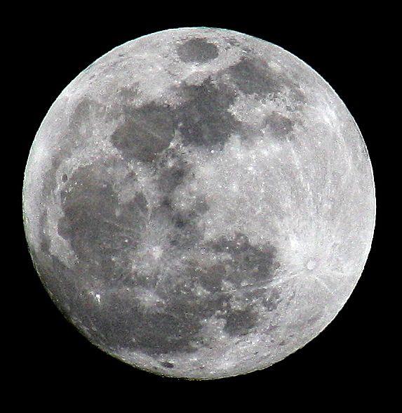 luna llena la luna se considera llena desde tres días