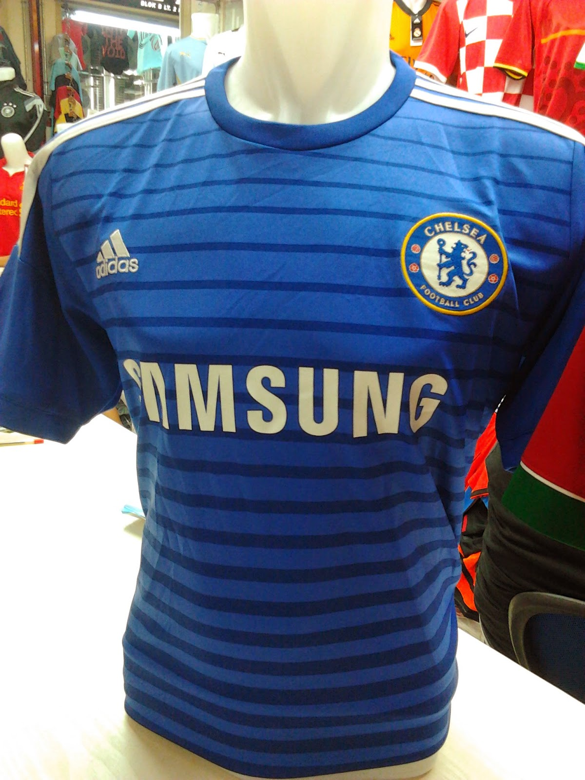 Jual Jersey Leaked Chelsea Home 14/15