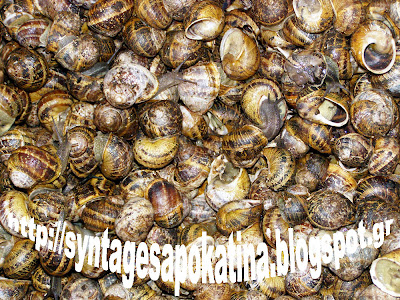 σαλιγκάρια http://syntagesapokatina.blogspot.gr