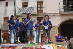 """Presentació de la cançó de l'aniversari dels grallers i timbalers """"Marxa de La Llacuna"""""""