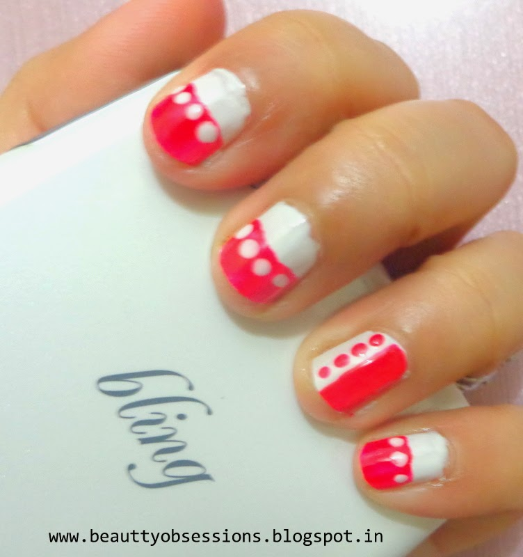 A simple and easy nail art for beginners...