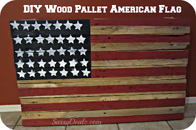 diy how to make an american flag out of a wood pallet step by step tutorial w pictures. Black Bedroom Furniture Sets. Home Design Ideas