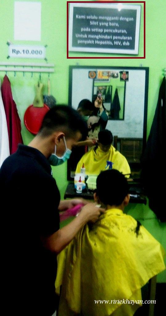 BArbershop; Yogyakarta; Sehat; Fashion