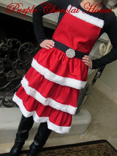 Mrs. Claus' Apron