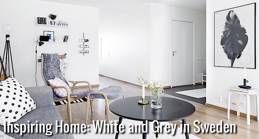 Inspiring Homes: White and Grey in Sweden | Inspired Home Design Blog