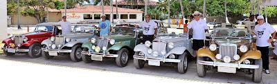 Proprietários de MP Lafer posam para a fotografia de fundação do Clube MP Lafer Pernambuco.